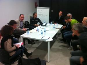 Segona trobada del Grup de treball de la Taula sectorial d'Indústria